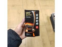 UCC 커피탐구 숯불 커피 가루 210g
