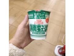 닛신 다시가 맛있는 컵누들 치킨 난반 소바