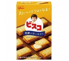 [그리코] 비스코 크림샌드 발효 버터 맛 15매