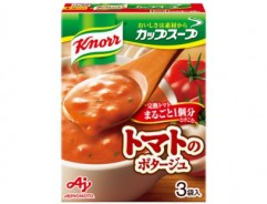[크노르 컵스프] 완숙 토마토 통째로 1개분 사용한 포타주 3봉입
